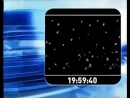 Заставка, часы и начало новостей RTP1 Португалия, 17.01.2008
