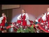 Hot russian folk dance