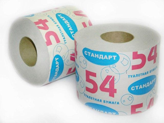 Туалетная бумага Стандарт 54. Акция