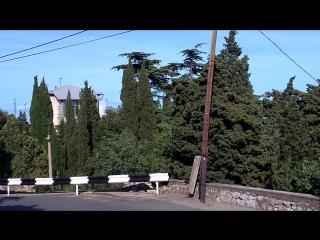 Вид на Симеиз, и гору Кошку))))