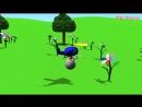 Развивающие мультфильмы для детей от 3 лет. Учим объёмные геометрические фигуры с вертолетом