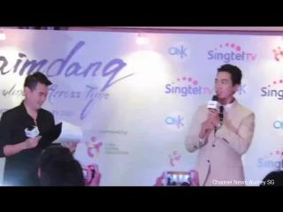 Сингапур - На пресс-конференции Song Seung Heon 송승헌 Media conference Singapore (Saimdang) 7 Jan 2017 (1)