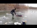 Приколы на рыбалке_ Суровый русский биатлон Russia - 720P HD