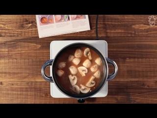 Как приготовить Том Ям Кунг  Кулинарная школа Шефмаркет
