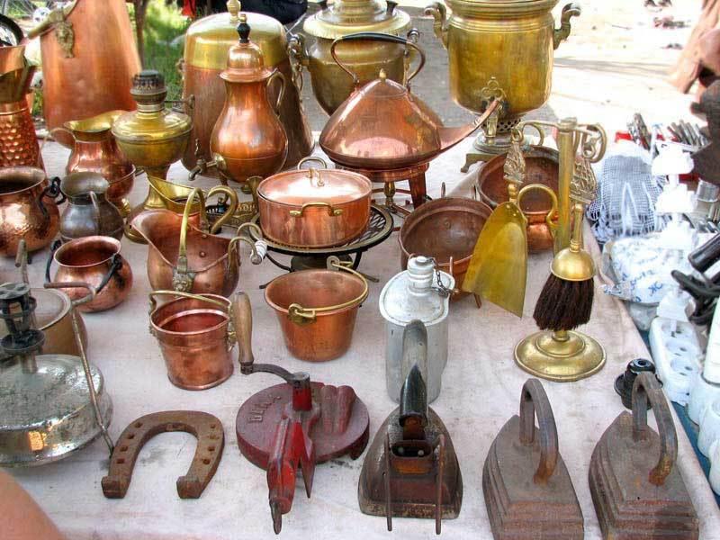 Блошиный рынок в Измайловском вернисаже