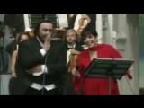 Лучано Паваротти и Лайза Минелли.