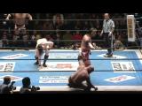 Hiroyoshi Tenzan, Satoshi Kojima, Togi Makabe vs. Hanson, Raymond Rowe, David Finlay (NJPW - Road To Sakura Genesis 2017 - Day 2
