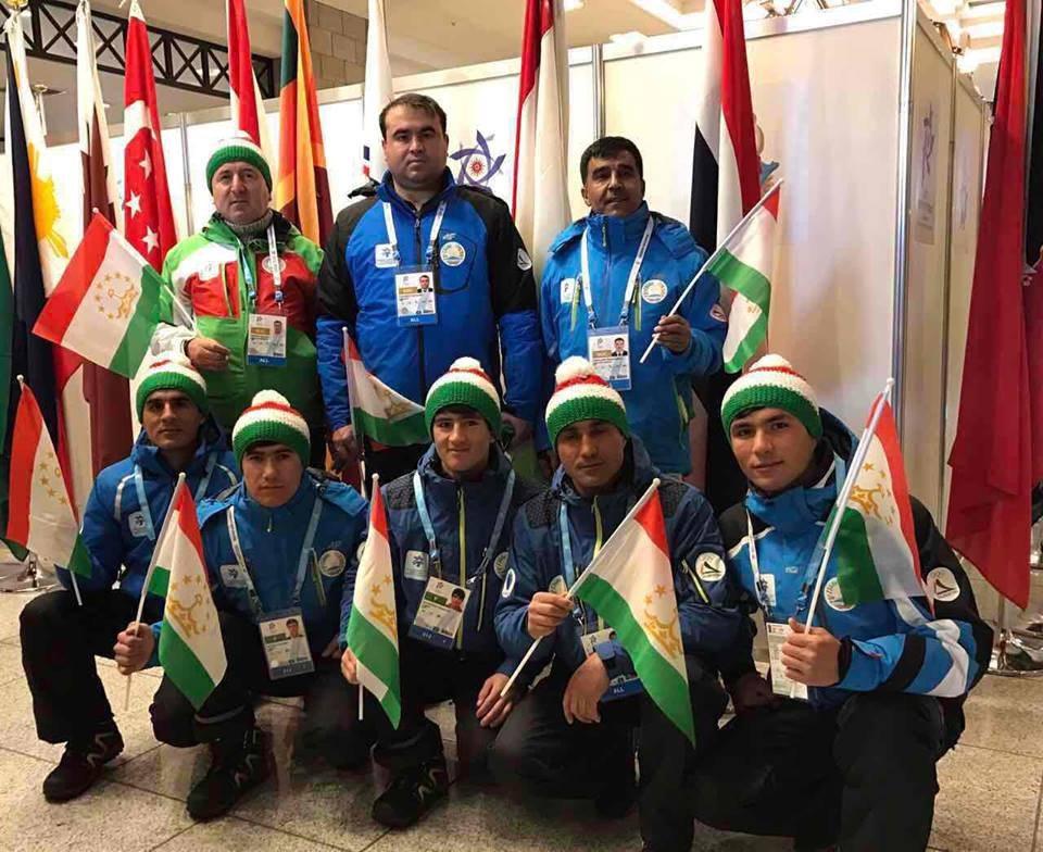 Таджикистан на Азиаде-2017 года представляют 4 спортсмена ВИДЕО