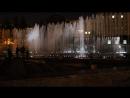Поющие фонтаны на Московской площади Питера
