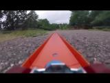 Путешествие игрушечной машинки с прикрепл нной к ней GoPro - 720p