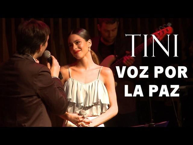 ¡Embajadora Por La Paz! TiniVozPorLaPaz | TINI » Freewka.com - Смотреть онлайн в хорощем качестве