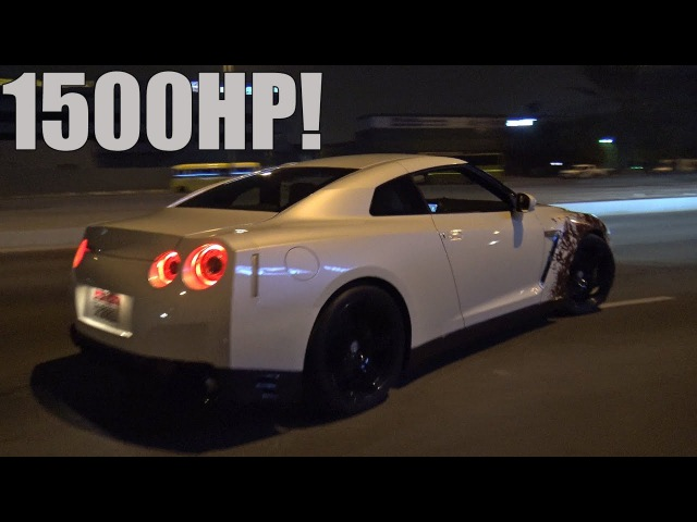 RIDE in a 1500HP Nissan GT-R R35 GTT by GoshaTurboTech