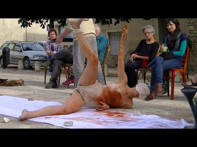 - Des pas semant - Performance de Sophie Cournède et Laurent Paris