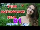 Урок 01 Вьетнамский алфавит Вьетнамский язык для русскоговорящих