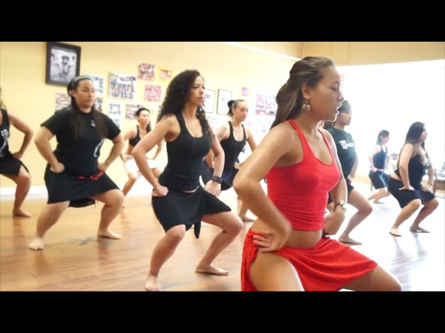 Oceane Ehrhardt Ori Tahiti workshop - Warmups