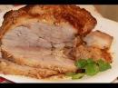 Буженина из свинины по домашнему Очень вкусная нежная и сочная