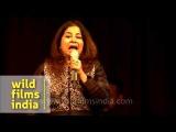 Rekha Bhardwaj performs 'Namak Ishq ka' at Mussoorie Writers' Festival