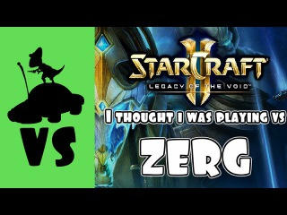 SC2 PvP - Thought I was playing vs Zerg (never give up)