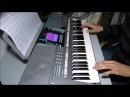 Наутилус - Гудбай Америка на синтезаторе YAMAHA PSR-S710