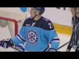 КХЛ (Континентальная хоккейная лига) - Моменты из матчей КХЛ сезона 16/17 - Удаление. Меньшиков Вита