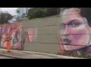 Prefeito gari (PSDB) manda apagar grafite (arte de rua) na Av. 23 de Maio