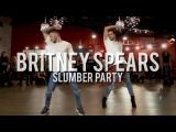"YANIS MARSHALL & KEVIN VIVES HEELS CHOREOGRAPHY ""SLUMBER PARTY"" BRITNEY SPEARS FEET TINASHE."