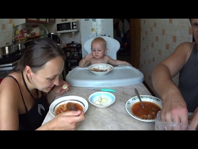 ✅👉Будни деревенщины ДЕНЬ Как живёт обычная деревенская семья