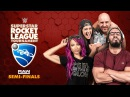 HUGGIN' UPPERCUTS Bayley Cesaro vs NASHA Sasha Neville Rocket League Tournament Raw Semis