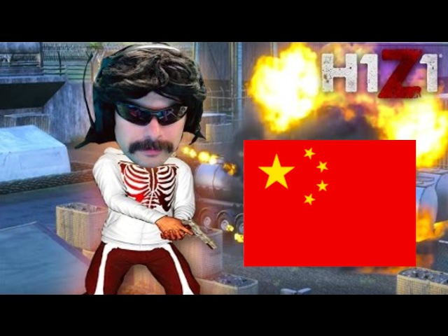 DR DISRESPECT VS CHINESE PLAYERS
