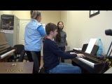 Учимся петь.Длинная фраза обязана дыханию на одном диафрагмальном давлении