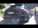 750HP Audi RS6 PP-Performance w/ Akrapovic - Drag Race, Burnout, Revs more!