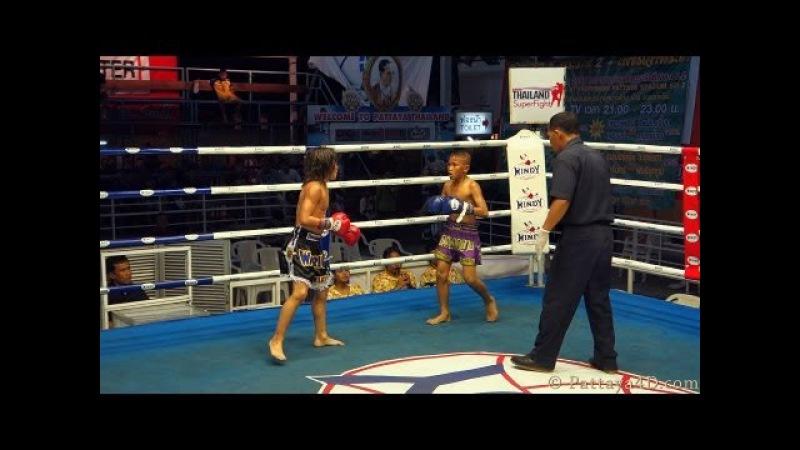 MuayThai Fight Junior Thai Boxing at Superfight Thepprasit Pattaya 2013
