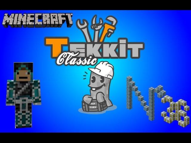 Tekkit Classic - 36 серия - Телепортер и помпа