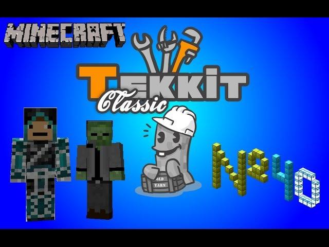 Tekkit Classic - 40 серия - Переплавка ресов после копания