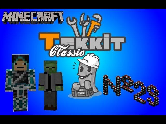 Tekkit Classic - 29 серия - Энчантмент тэйбл