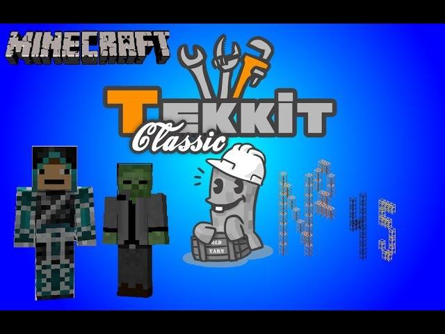 Tekkit Classic - 45 серия - Отработка карьера