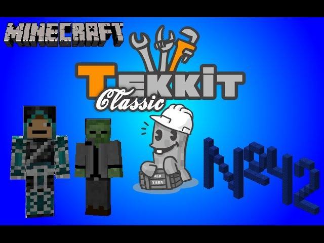 Tekkit Classic - 42 серия - Время апгрейдов