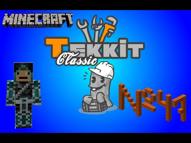 Tekkit Classic - 47 серия - Моя очередь набирать лаву