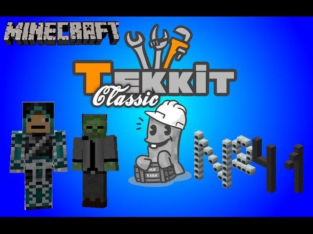 Tekkit Classic - 41 серия - И немножко конструктивчика