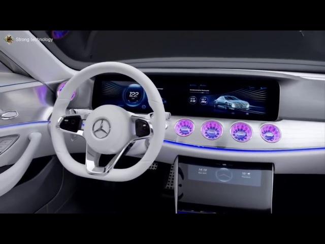 Mercedes Benz Concept IAA new electric car
