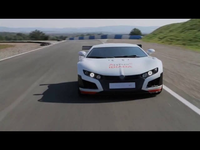 VOLAR e 2013 1 000 hp Fastest Electric Supercar Spanish SuperCar Top Gear 2013