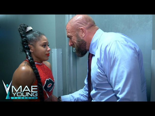 Triple H comforts Bianca Belair after her second-round loss: Exclusive, Sept. 4, 2017