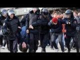 Видео: жестких задержаний на