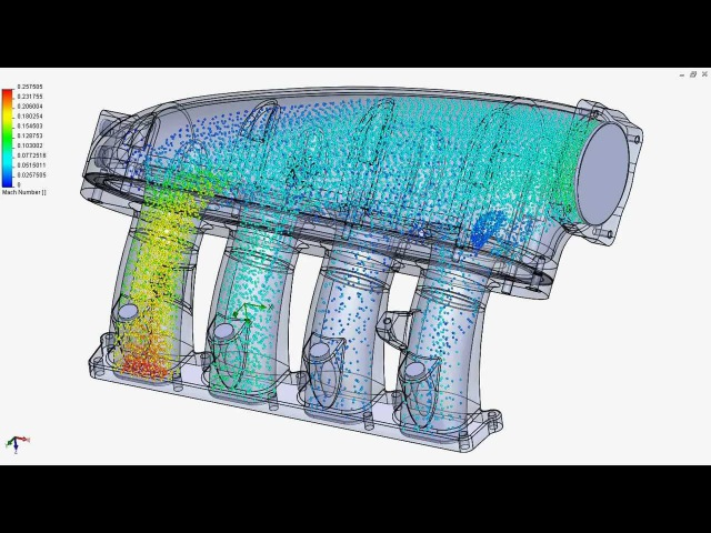 Integrated Engineering 1.8T Transverse Manifold - Dynamic Airflow Simulation