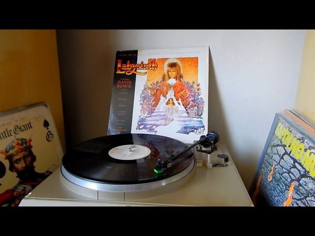 David Bowie - As The World Falls Down (1986 vinyl rip / Audio-Technica AT95E)