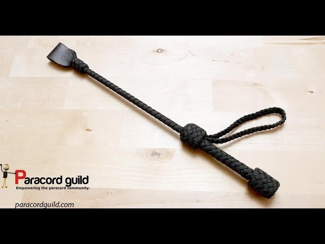 Paracord riding crop