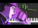 FULL Sakamoto desu ga 坂本ですが? Opening COOLEST Piano Synthesia Tutorial Sheet
