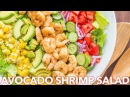 Salads Avocado Shrimp Salad Recipe Simple Cilantro Lemon Dressing