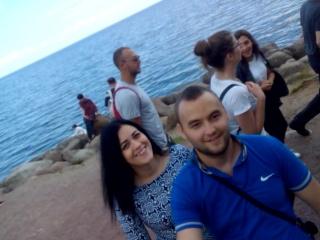 #петергоф⛲#финский_залив 🌊#лето2017☀️ #семья❤ #кушкины💑#счастьеесть 😍#счастливывместе 😘