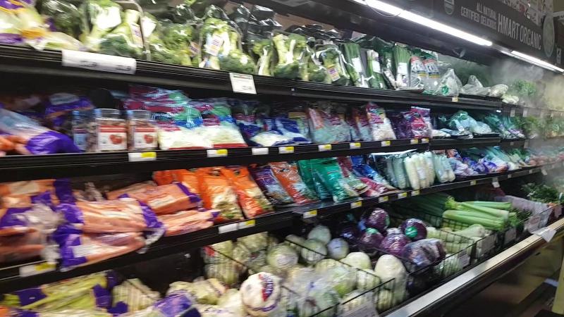 Супермаркет в США (Ирвайн)